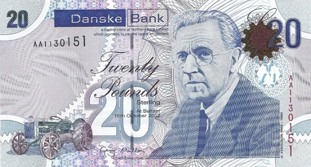 irish banknotes latest news - Pam West British Bank Notes