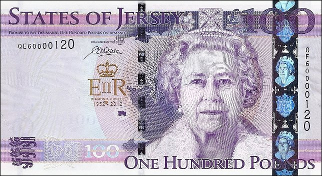 Jersey Latest News Pam West British Bank Notes